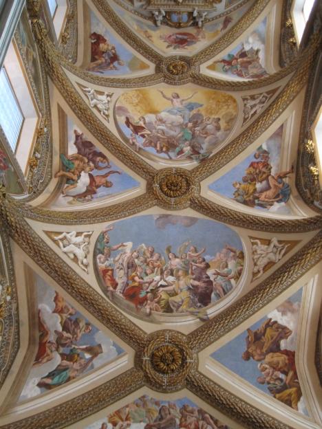Ascensione di G.Lanfranco certosa san Martino