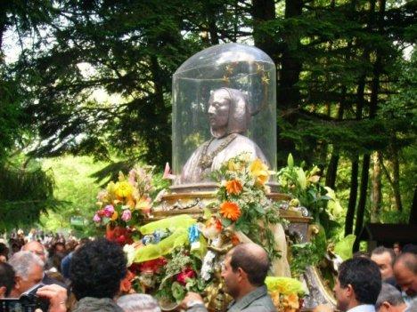 busto in processione
