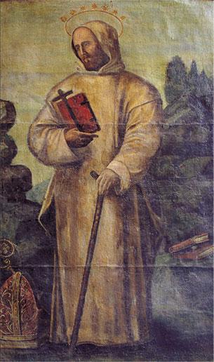 """""""San Bruno""""  Ignoto meridionale,  seconda metà del XVI secolo"""