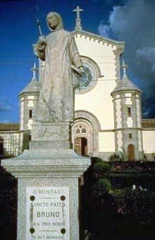 statua di san Bruno