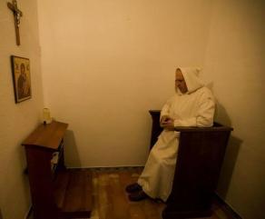 nell'oratorio della cella
