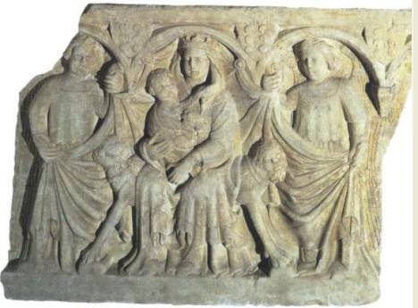 fronte di sarcofago