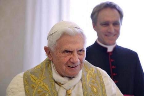 Benedetto XVI e Padre Georg