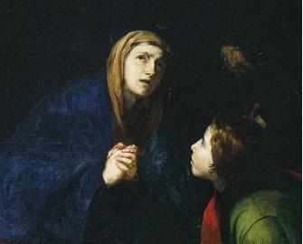 la Vergine e Giovanni