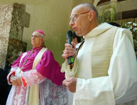 Dom Jacques Dupont e Mons Bertolone