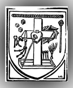 Blasone nel Chiostro della Grande Chartreuse (1474)