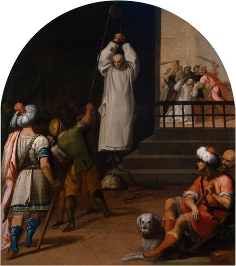 Martirio del padre Andrés, prior de la cartuja de Seiz