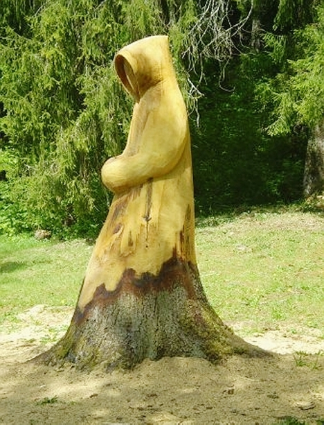"""il """"monaco albero di Meyrat"""