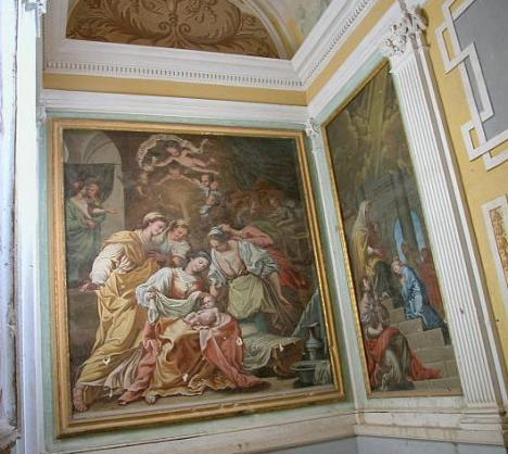 Natività (in una cappella della certosa di las Fuentes)