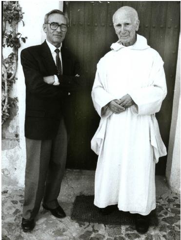 Rafael Tardìo e Dom Gerardo María Posada