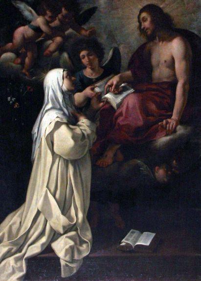 Firenze - Rutilio Manetti, <i>Beata Margherita Certosina</i>, tela, 1620-1625