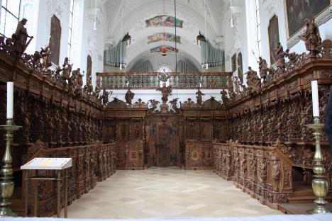 il coro monumentale di Buxheim