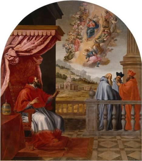 Visione del Papa Vittore III