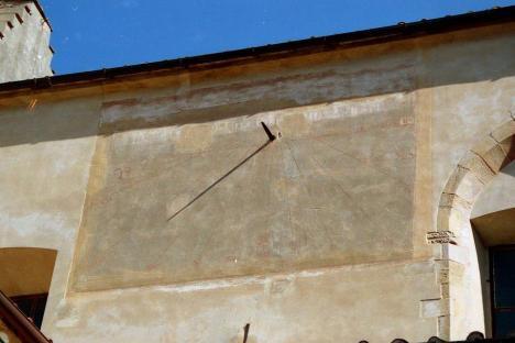 orologio solare verticale foto 3