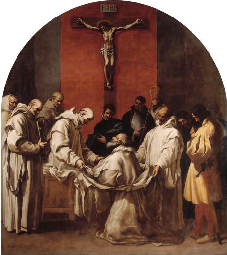Il vescovo Ugo prende l'abito certosino