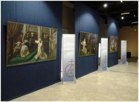 Sala museo certosa Serra