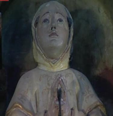san Bruno statua lignea a Evora