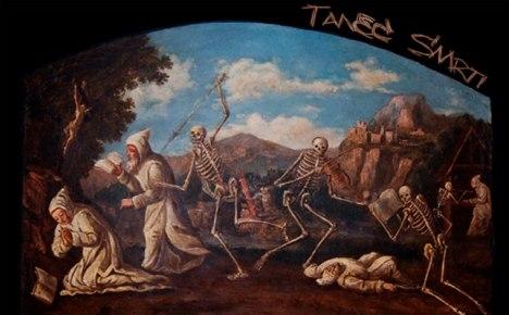 Danza macabra (dipinto nella certosa di Brno)