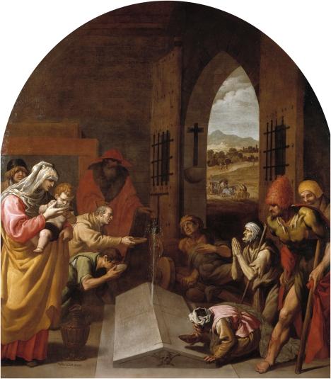 La fonte miracolosa dalla tomba di san Bruno