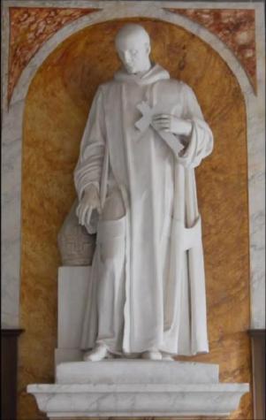 san Bruno (Denys Foyatier 1840) sala del Capitolo Generale Grande Chartreuse