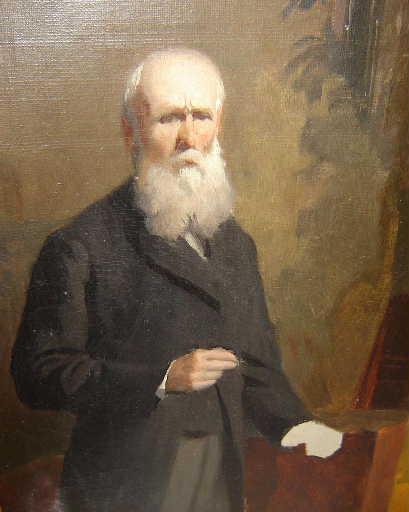Charles Henri Michel autoritratto