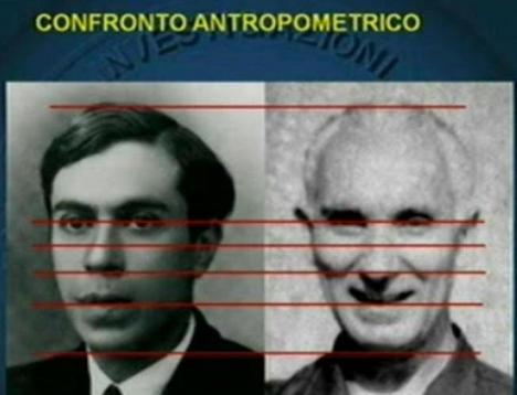 Confronto antropometrico (Majorana -Bini)
