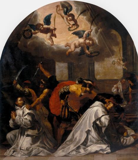 Martirio di quattro monaci nella certosa di Roermond