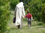 incontro annuale con un parente (nipotino)