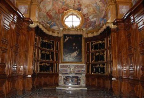 Cappella del Tesoro( certosa di san Martino-Napoli)
