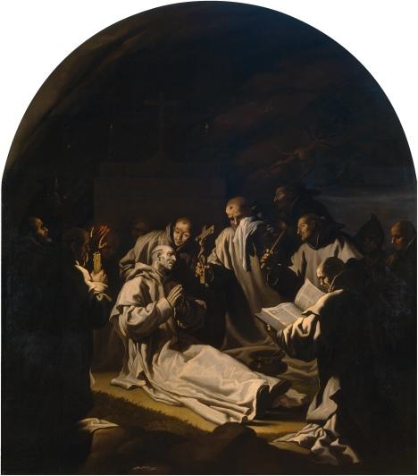 La morte di san Bruno