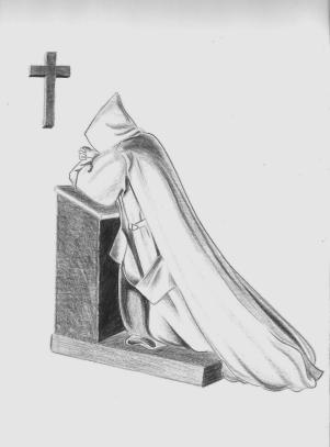 monje-rezando