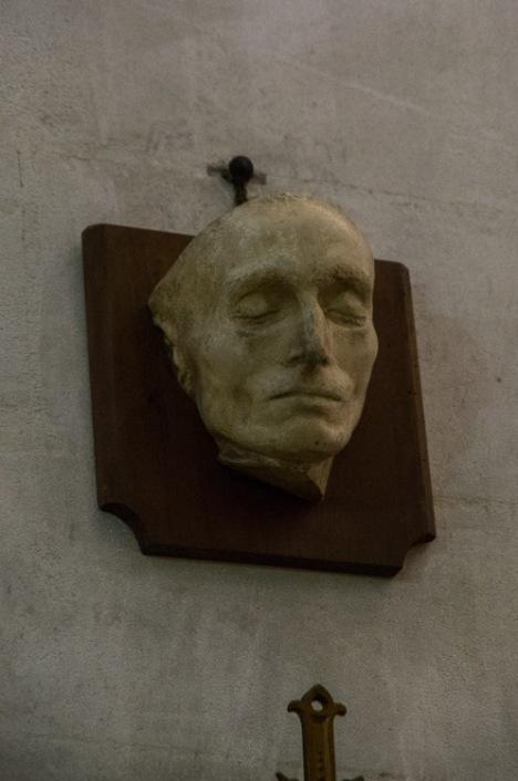 maschera funebre