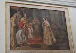 Dipinto con Santa Rosellina