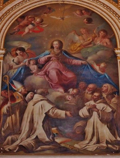Virgen Protectora cartujos Porta Coeli