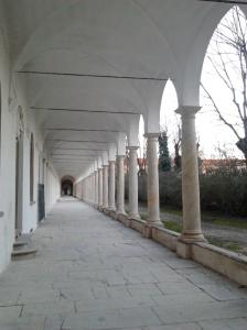 colonnato del chiostro