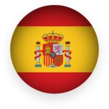 spain-flag-button-round