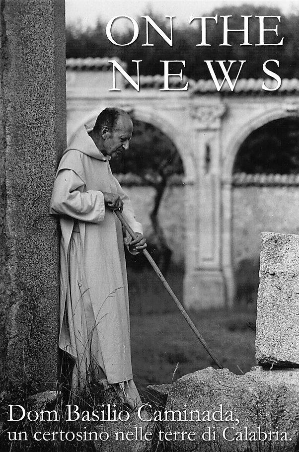 Dom Basilio Caminada, un certosino nelle terre di Calabria