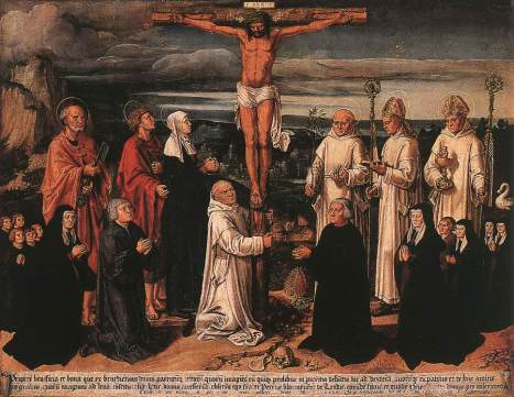 Anton_von_Worms_Woensam_-_Christ_on_the_Cross_with_Carthusian_Saints_-_WGA25855