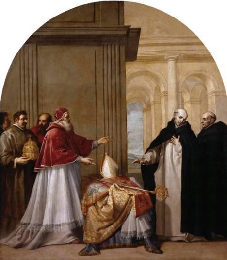 8 Bruno rinuncia alla carica di Vescovo (Vicente Carducho)