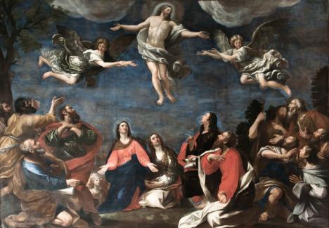 Il Bibbiena_Ascensione di Cristo (certosa di Bologna)