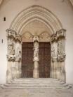 Dijon; Chartreuse de Champmol; Bourgogne-Franche-Comté, Côte-d'Or; France; Hospital centre Centre Hospitalier La Chartreuse. The former chapel. The portal. 1388 - 1393. ; ; pmrmaeyaert@gmail.com; www.pmrmaeyaert.eu; Ref: PM_107822_F_Dijon.jpg