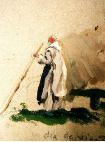 converso dedito alla pastorizia