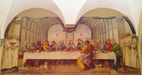 18Ultima cena Poccetti 1596 (certosa di Pontignano)
