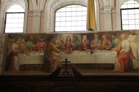 18Ultima cena Poccetti 1597 (certosa Calci) refettorio