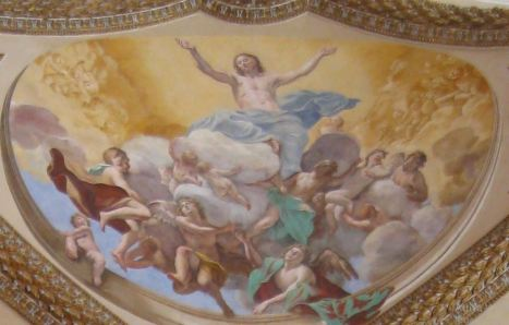 Ascensione di Nostro Signore G. Lanfranco(certosa di San Martino)