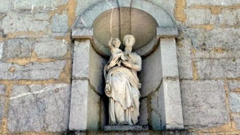 GC Vergine e bambino GC