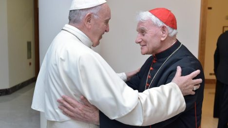 Papa Francesco e Padre Simoni
