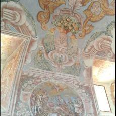 affreschi pareti