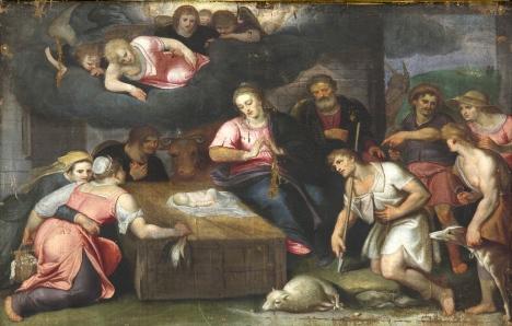 25 Adorazione dei pastori-Diego de Leyva-certosa di Miraflores