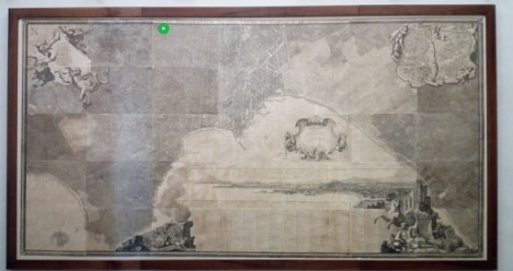 La mappa del Duca di Noja (certosa e Museo di san Martino)